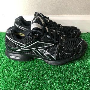 Reebok EasyTone Black Tennis Shoe Athletic Women's